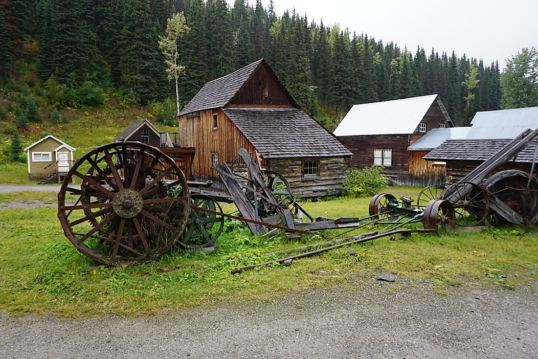 Ghost Towns of Canada: Barkerville, British Columbia