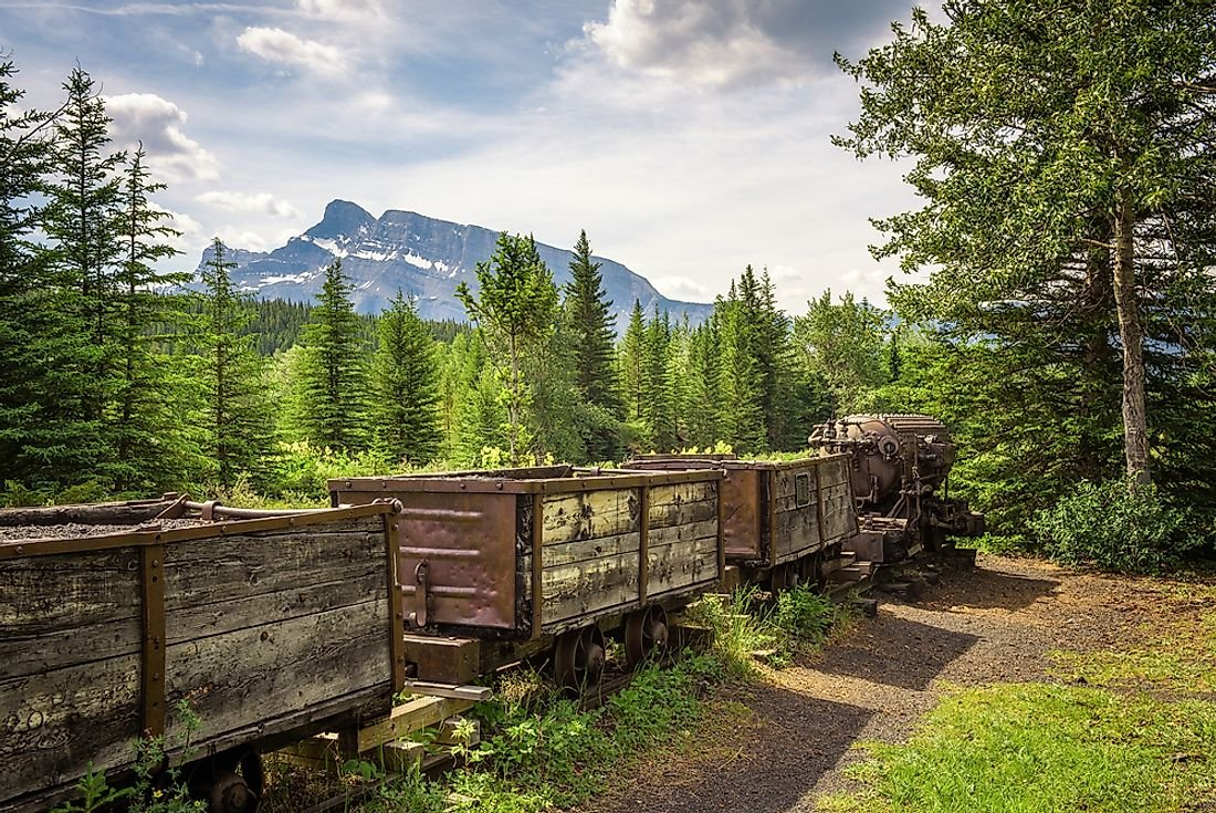 Ghost Towns of Canada: Bankhead, Alberta