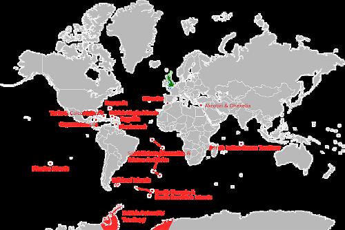 British Overseas Territories By Area