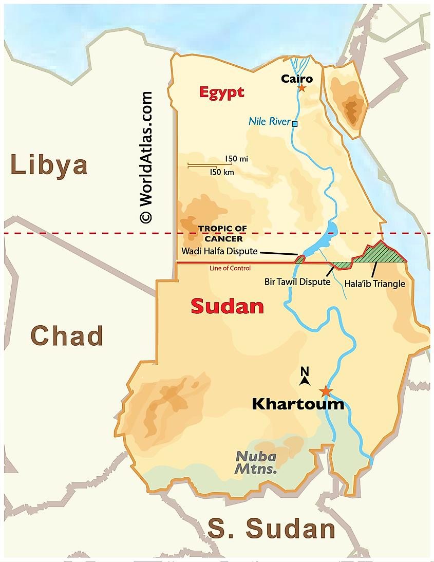 The Egypt-Sudan Border Dispute