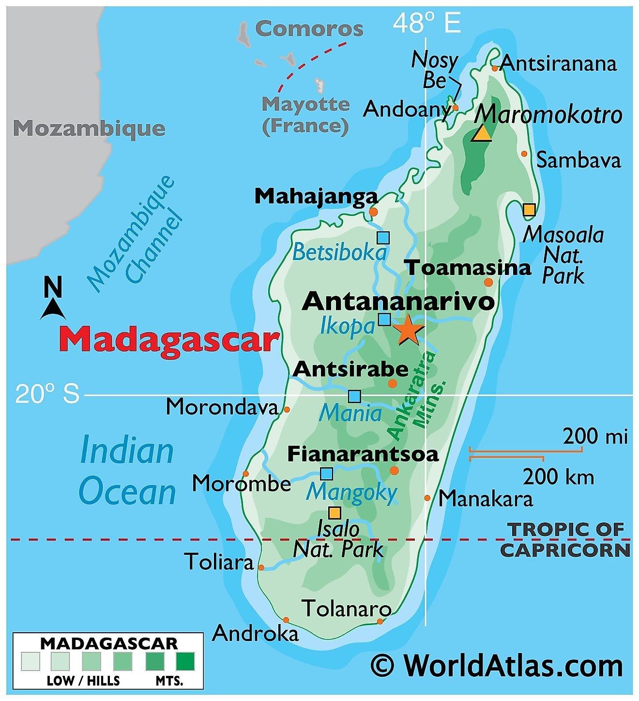 Madagascar Maps & Facts