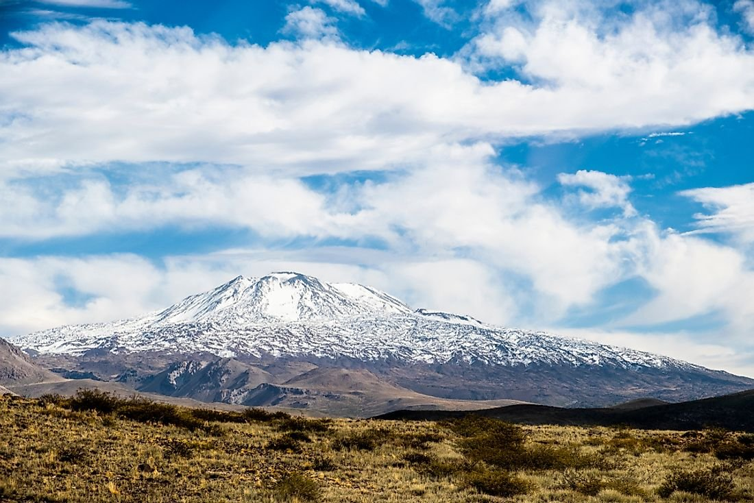 Highest Mountains In Argentina