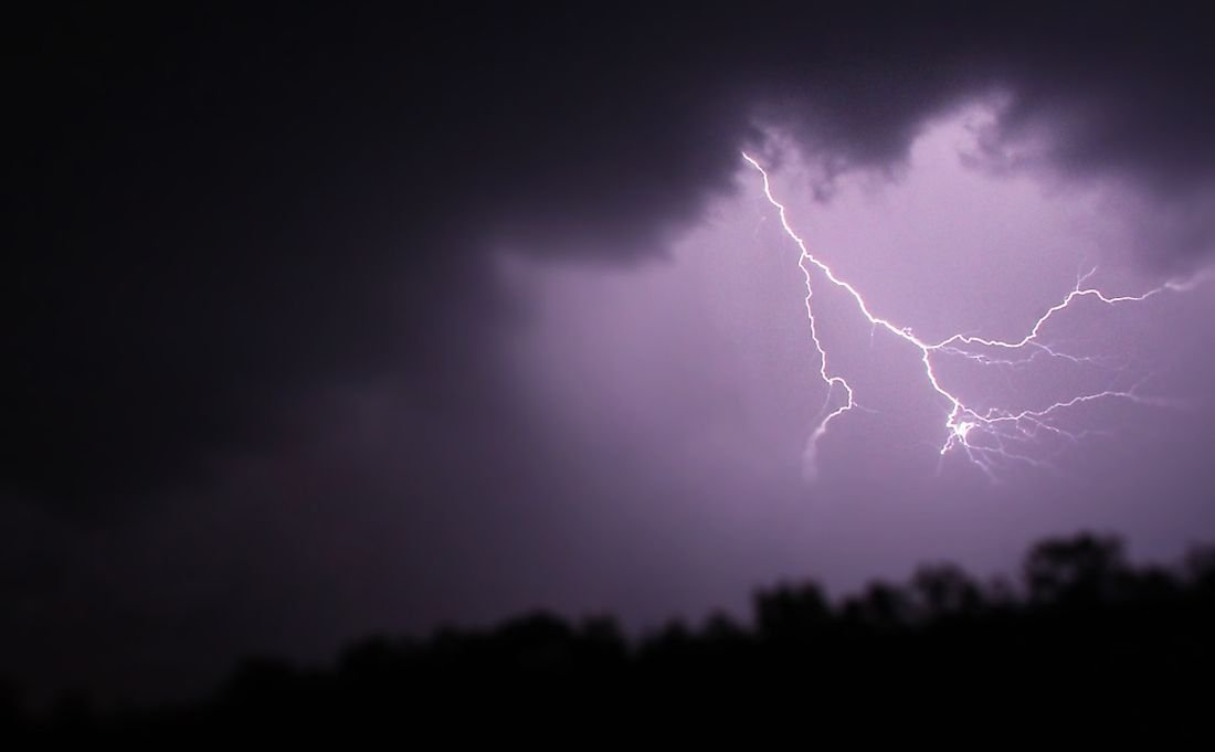 What Causes Lightning?