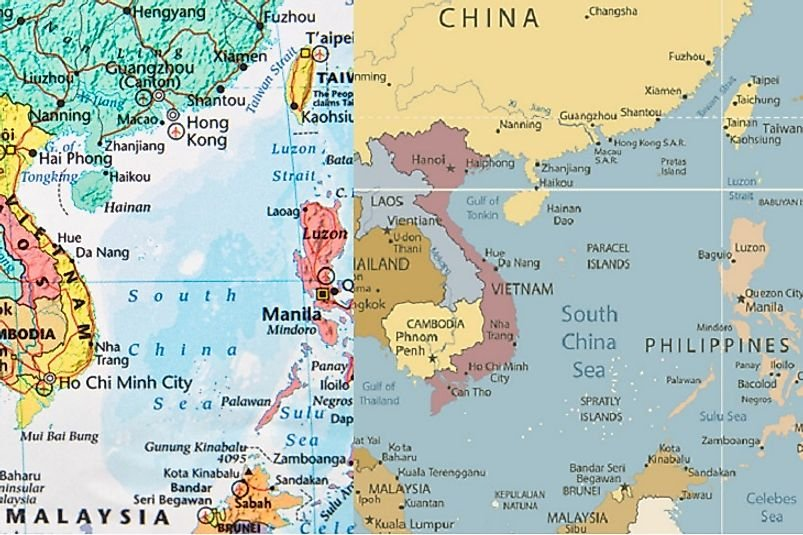 South China Sea - Territorial Conflicts And Disputes