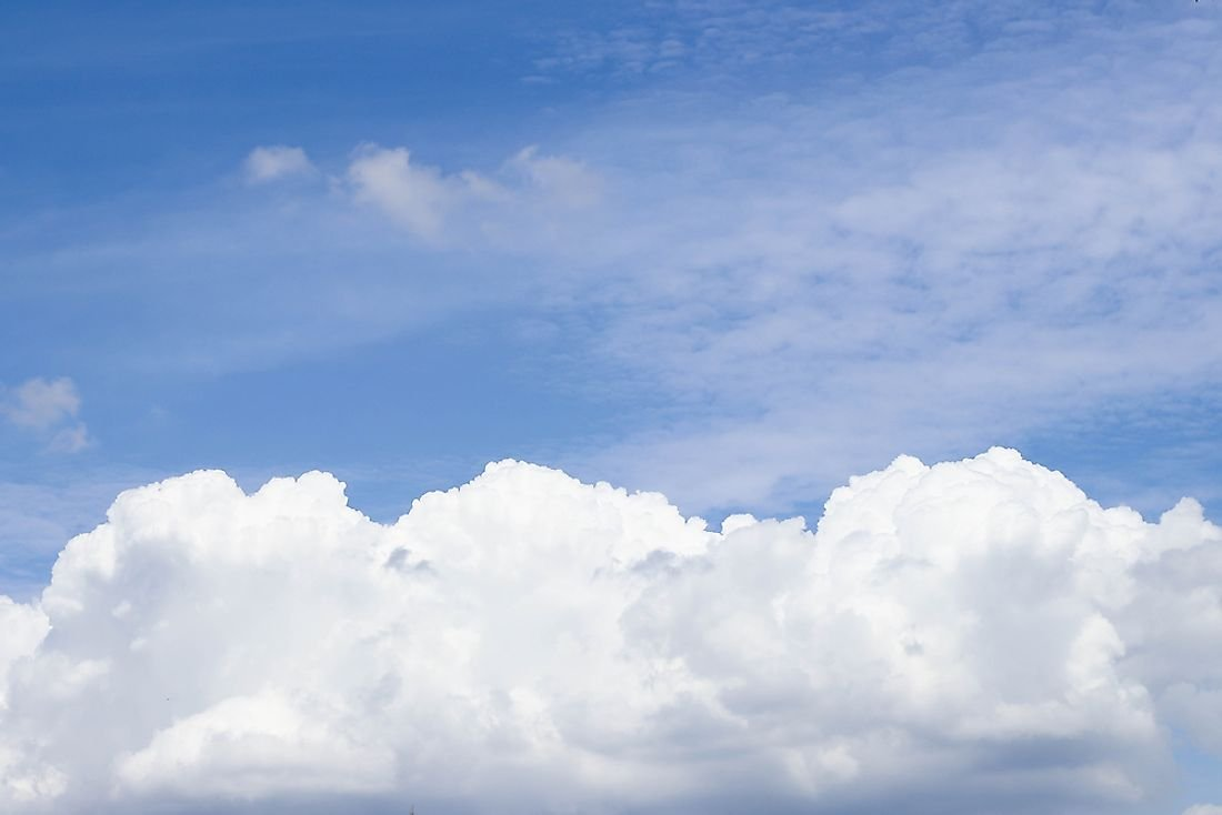 How Much Does a Cloud Weigh?