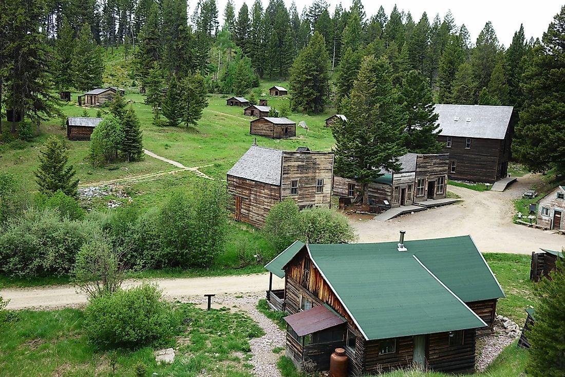 Ghost Towns of America: Garnet, Montana