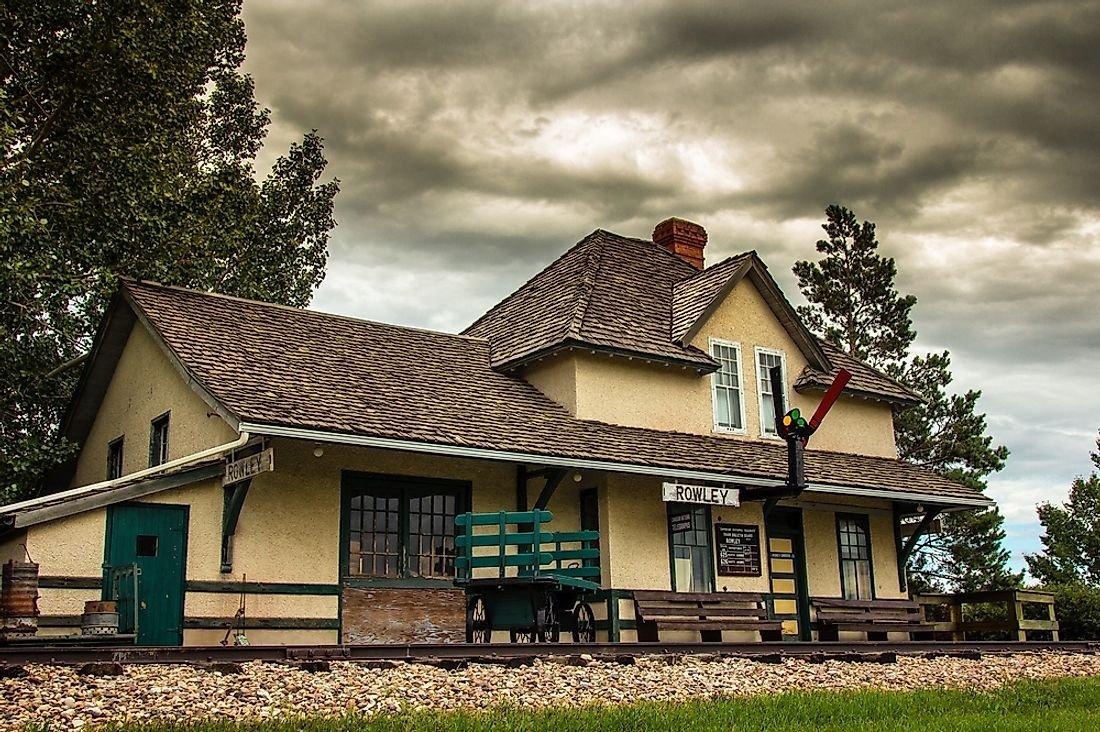 Ghost Towns of Canada: Rowley, Alberta