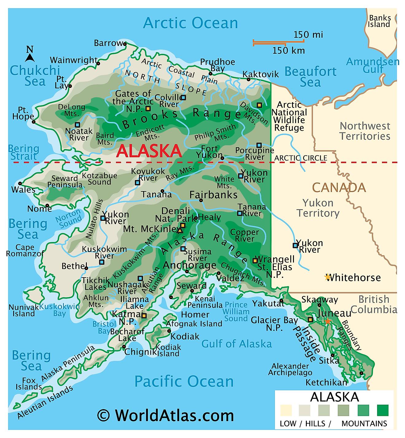 Alaska Maps & Facts