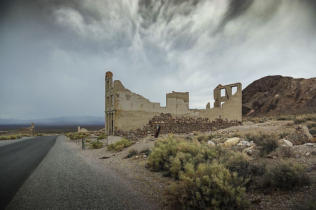 Ghost Towns of America: Rhyolite, Nevada