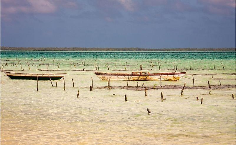 What Are The Biggest Industries In Kiribati?