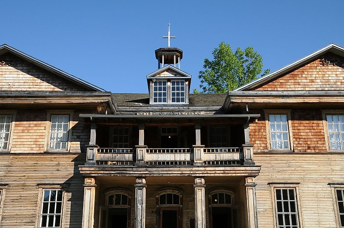 Ghost Towns of Canada: Val-Jalbert, Quebec