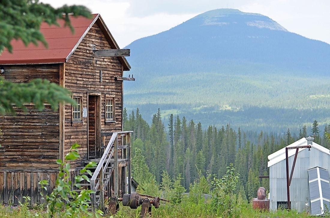 Ghost Towns of Canada: Nordegg, Alberta