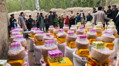 Food Relief for Poor Afghans Amid COVID-19