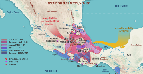 Aztec Empire Map