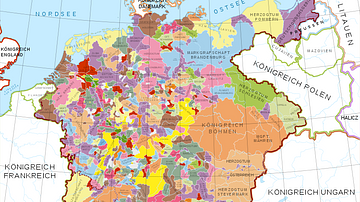 Holy Roman Empire in the 13th century CE