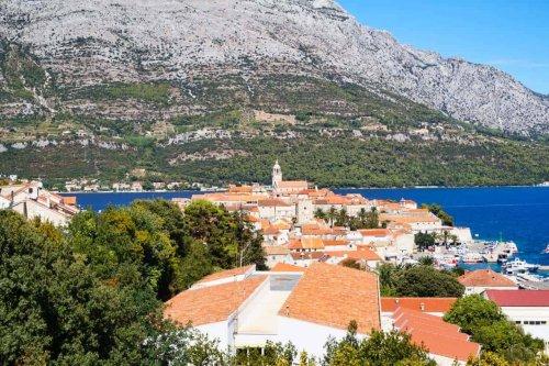Korčula in Kroatien: Sehenswürdigkeiten auf der Insel in der Adria
