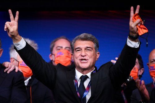 Special Report: Victory for Laporta - World Soccer