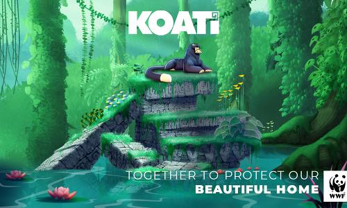 "WWF, Sofia Vergara, and Marc Anthony team up to celebrate the extraordinary biodiversity of Latin America with the animated film ""KOATÍ"""