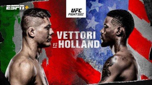 IT'S TIME - pronostici dell'evento UFC Fight Night: Vettori vs Holland