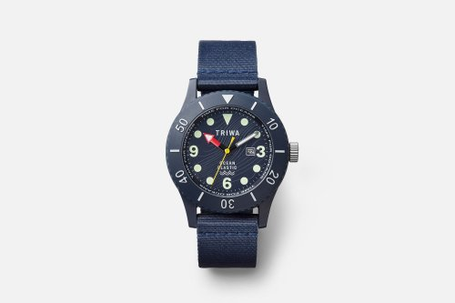 TRIWA is Back with a New Watch Made From Recycled Ocean Plastic