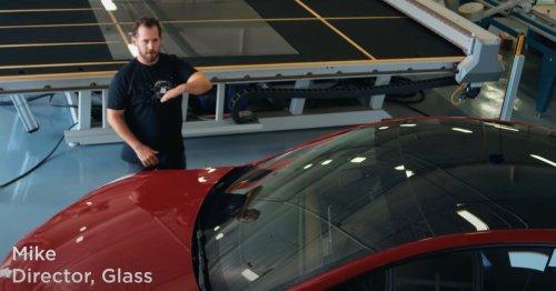 Tesla unveils its 'secret to a quiet cabin': Proprietary 'Tesla Glass'