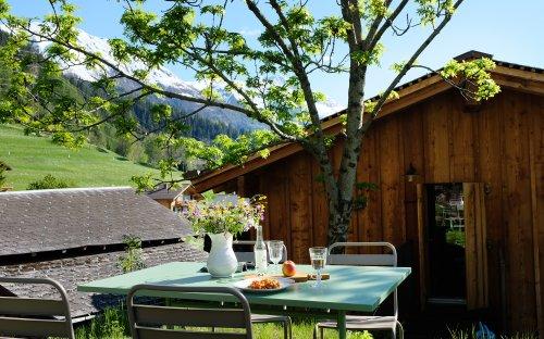 Hüs üf der Flüe – Historisches Ferienhaus im Schweizer Kanton Wallis