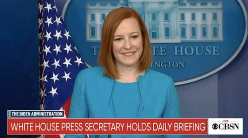 "Jen Psaki has great fun with reporter's question on universities that ""indoctrinate"" students 
