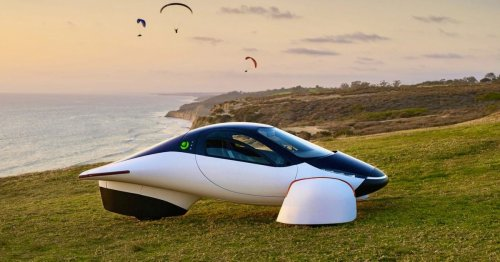 Aptera shows off its ultra-futuristic solar-powered Sol electric vehicle with 1,000-mile range - Electrek