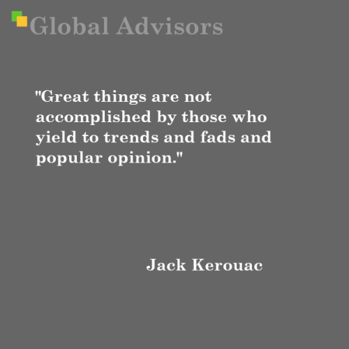 Quote: Jack Kerouac - Global Advisors   Quantified Strategy Consulting