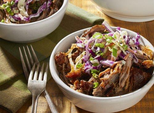 Keto Slow Cooker Shredded Pork Recipe  Eat This Not That