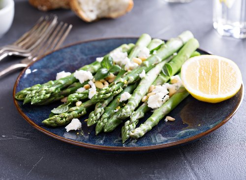 Easy Roasted Parmesan Asparagus Recipe | Eat This Not That