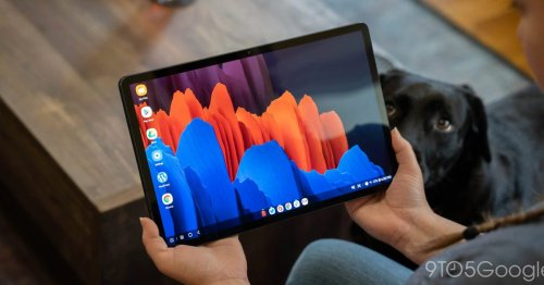 Galaxy Tab S7 gets Samsung's virtual video backgrounds, better S Pen support w/ April update