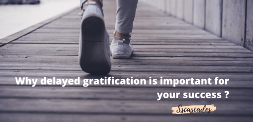 How to delay your gratification - SSCASCADES