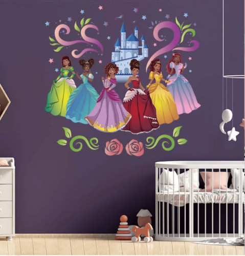 Black Child Empowerment Wall Decals