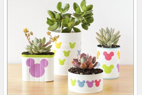DIY Mickey Flower Pots - Magical Spring Crafting! - The Main Street Mouse