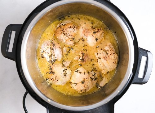 Instant Pot Lemon Chicken Recipe | Eat This Not That
