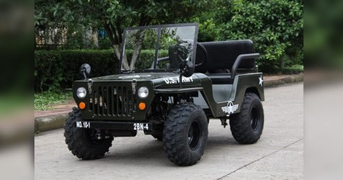 He bought a $1,700 electric Jeep from Alibaba - Here's what showed up