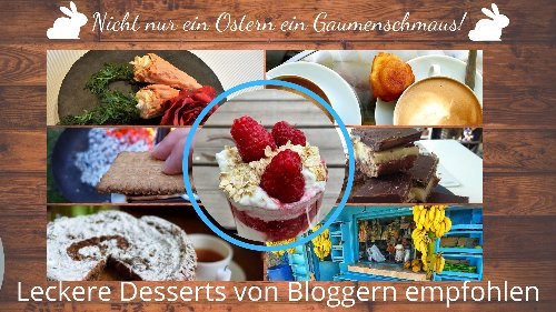 Desserts aus aller Welt - von Bloggern empfohlen - DieReiseEule