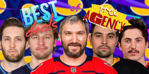 The five very best deals of NHL free agency, plus one deal that was not very good at all