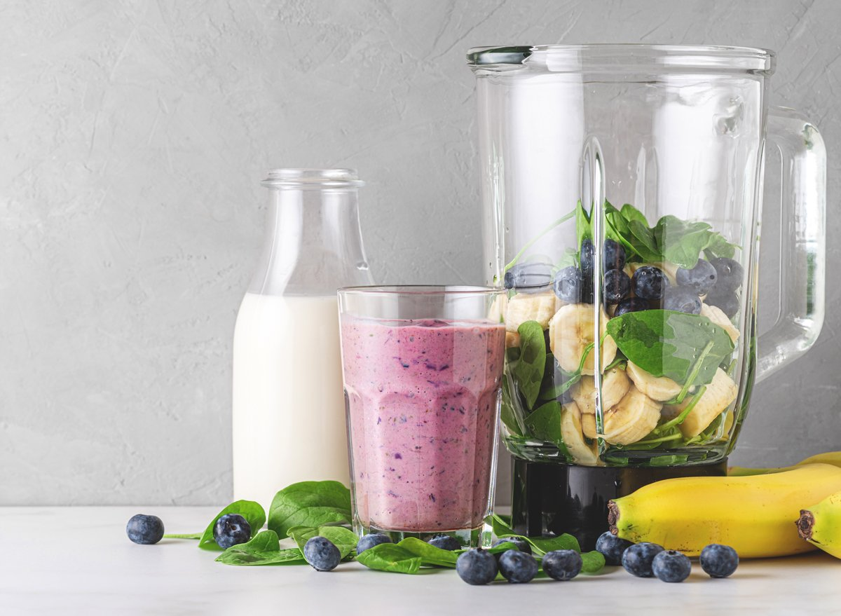 The One Smoothie To Drink For A Longer Life