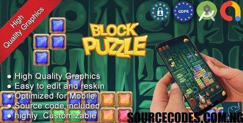 Block Puzzle Game Source Code