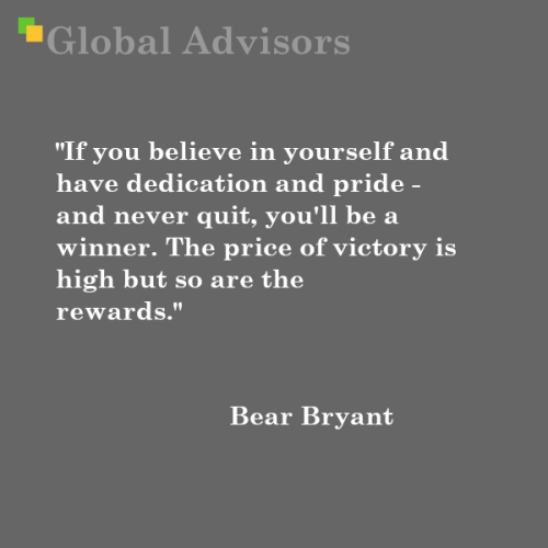 Quote: Bear Bryant - Global Advisors | Quantified Strategy Consulting