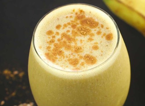 Pumpkin Spice Smoothie Recipe Video | Eat This, Not That!