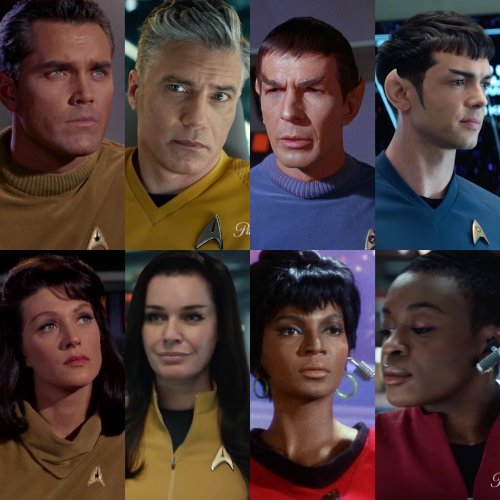 """""""Star Trek: Strange New Worlds"""" features a cast for the future's past…"""