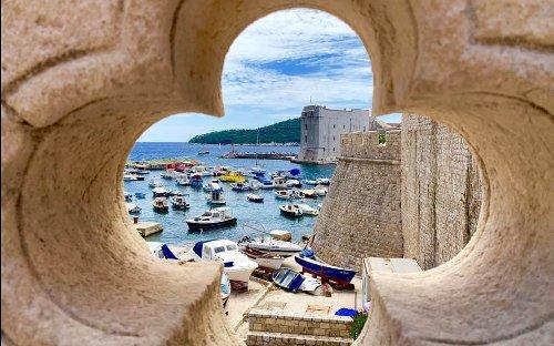 Breaking Bread in Dubrovnik