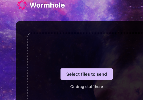 Wormhole is a file sending site with end-to-end encryption | Boing Boing
