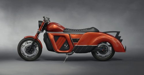 This new electric motorcycle claims 300 miles of range and all-wheel drive