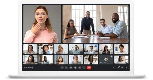 New Google Meet UI: Better controls, video backgrounds - 9to5Google