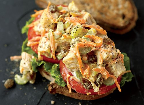 Chicken Salad Sandwich Recipe With Olive Oil Mayo | Eat This Not That