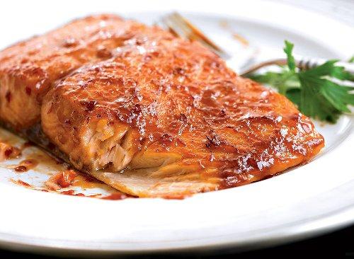 Sweet Chili-Glazed Salmon Recipe | Eat This Not That